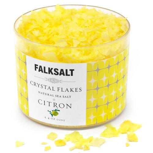 FALKSALT Natural Sea Salt (Flakes) 4.4 oz (Citron) ()