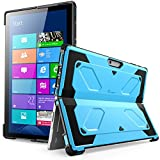 The New Surface Pro 2017 Case, [Heavy Duty] i-Blason Armorbox Dual Layer Hybrid Full-body Protective Kickstand Case Compatible With Microsoft Surface Pro 4 2015 [NO BUILT IN SCREEN PROTECTOR] (Blue)