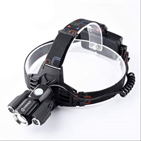 Frontal LED USB Recargable Linterna de Cabeza Luz Frontal ...