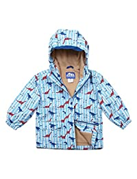Reflective Waterproof Girls Boys Kids Rain Jacket 2 - 8 years old