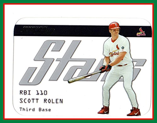 2003 Studio Stars #50 Scott Rolen ST. LOUIS CARDINALS (see-thru card) ()