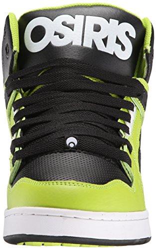 Scarpe Osiris: Mens NYC 83 BK/RD Lime/White