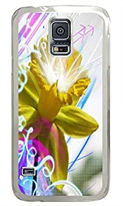 Samsung S5 case spec cases Daffodill Abstract PC Transparent Custom Samsung Galaxy S5 Case Cover by icecream design