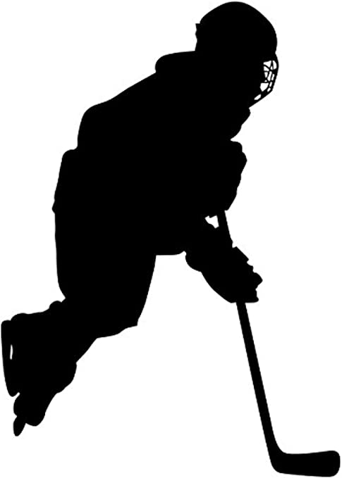 Wall Sticker Ice Hockey-Hockey Sport Deco Youth Room Living Room Wall Tattoo