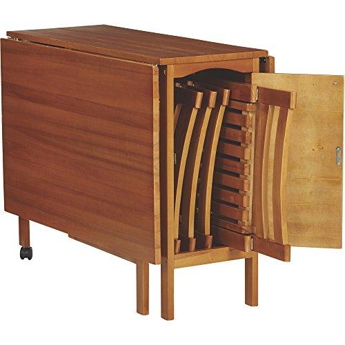 14 Space Saving Small Kitchen Table Sets 2019: Kotula's 5-Pc. Space-Saving Dining Set