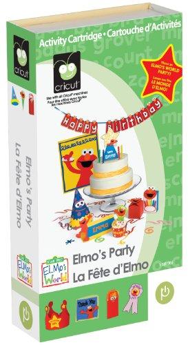 Cricut Elmos Party Cartridge -