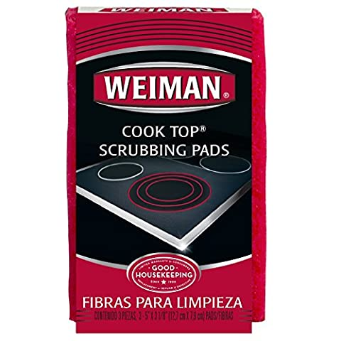 Weiman Cook Top Scrubbing Pads, 18 count pads (Top Products)