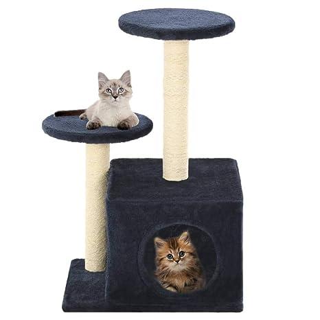 Gulunmun Árbol Rascador para Gatos Árbol De Gato con Postes De ...