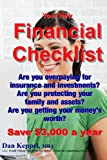 Your New Financial Checklist, Dan Keppel, 1482350823