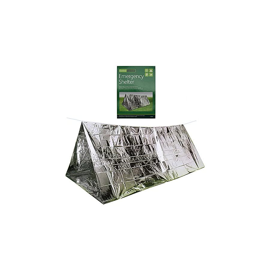 Survival Shelter Tent,Simple Wild Blanket,Sunshade Earthquake Relief Protection,Heat Preservation Sleeping Bag for Emergency Outdoor Activities Waterproof,Cold Proof 240mm150mm90mm/9.4in5.9in3.5in