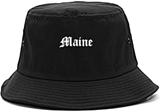 ME Maine State Old English Bucket Hat