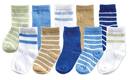 Luvable Friends 10-Piece Baby Socks Gift - Luvable Friends Basic Colors Shopping Results