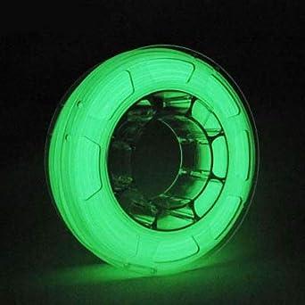 1Kg PLA 1,75mm 3D Printer Filamento Spool 3D Materiale di stampa per stampanti Glowing verde