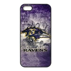 Baltimore Ravens Team Logo iPhone 5 5s Cell Phone Case Black persent zhm004_8493538