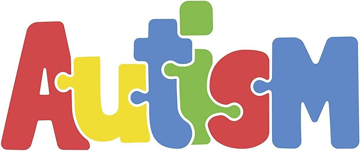 Corinthians 13:4-8 Love is Patient Autism Puzzle Round Car Magnet Bumper Decal 5 1//2 Inch