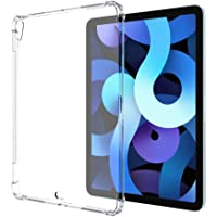TERSELY Clear Case Cover for Apple ipad air4 (10.9 inch), Air Hybrid Slim Fit Shockproof Crystal TPU Bumper Protective…