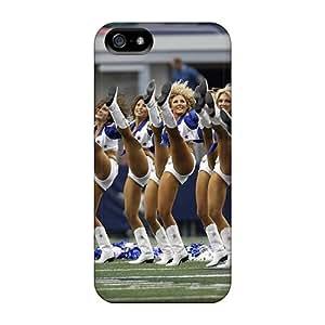 Iphone 5/5s Case Cover Dallas Cowboys Cheerleaders 2013 Calendar Case - Eco-friendly Packaging