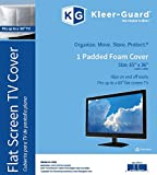 "Kleer-Guard Flat Screen TV Cover. 65""x36"" Fits Up To 60"" Flat Screen TV"