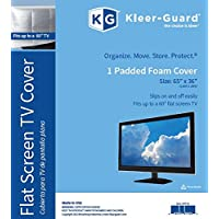 "Kleer-Guard Flat Screen TV Cover. 65x36 Fits Up To 60"" Flat Screen TV"