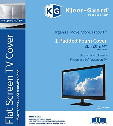 Kleer-Guard Flat Screen TV Cover. 65