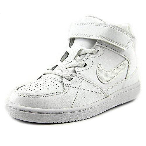 Nike Priority Mid PS Zapatillas de baloncesto, Niños Blanco (White / White)