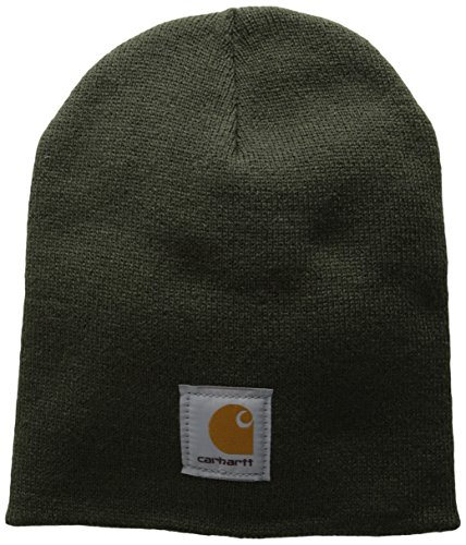 - Carhartt Men's Acrylic Knit Hat, Dark Green, One Size