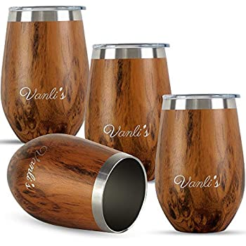 Amazon Com Acoome 12oz Wine Tumbler With Lid Stainless