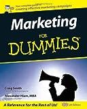 Marketing for Dummies, Craig Smith and Alexander Hiam, 0764570560