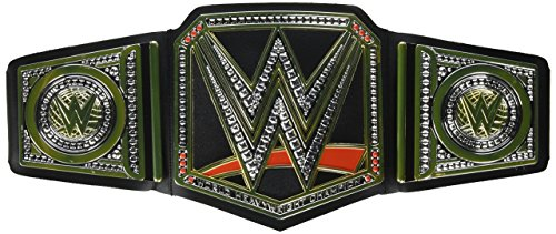 WWE World Championship Belt – Styles May Vary by Mattel