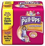 Huggies Pull-Ups Training Pants with Learning Designs, Girls, 2T-3T, 58 Count