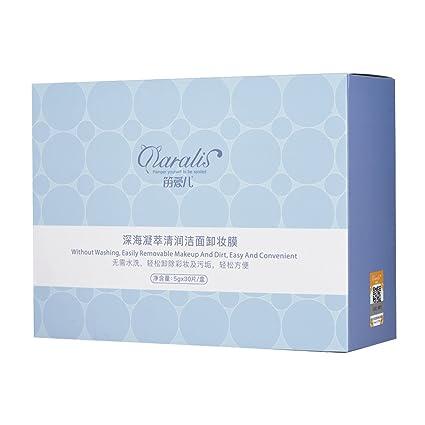 Toallitas desmaquillantes individualmente envueltas en tamaño de viaje Almohadillas desmaquilladoras con vitamina E Limpiador profundo y