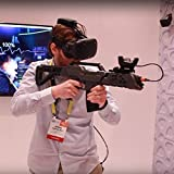 VR Gun Controller for HTC VIVE Virtual Reality VR headset Device for FPS Shooting Games ,Game Gun Joysticker Gamepad in VIVE Controller AR Game ( include HTC VIVE Tracker )