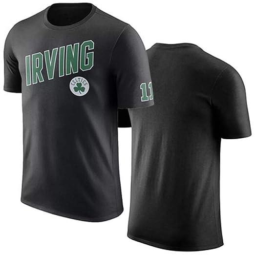 HYYSH Irving Irving Nuevo Baloncesto Camiseta Deportiva de Manga ...