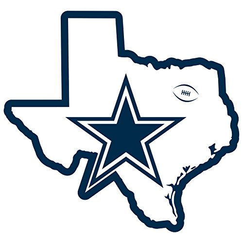Siskiyou NFL Dallas Cowboys Home State Magnet, 11