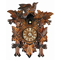 Schneider Cuckoo Clocks Quartz Clock in Antique Finish