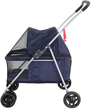 NanXi Gato Plegable Carrito de bebé, sillas de Paseo para ...
