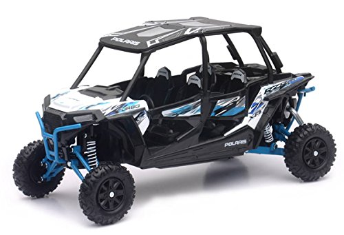 New Ray Toys 1:18 Polaris RZR XP 4 Turbo (Matte White Lightning) -