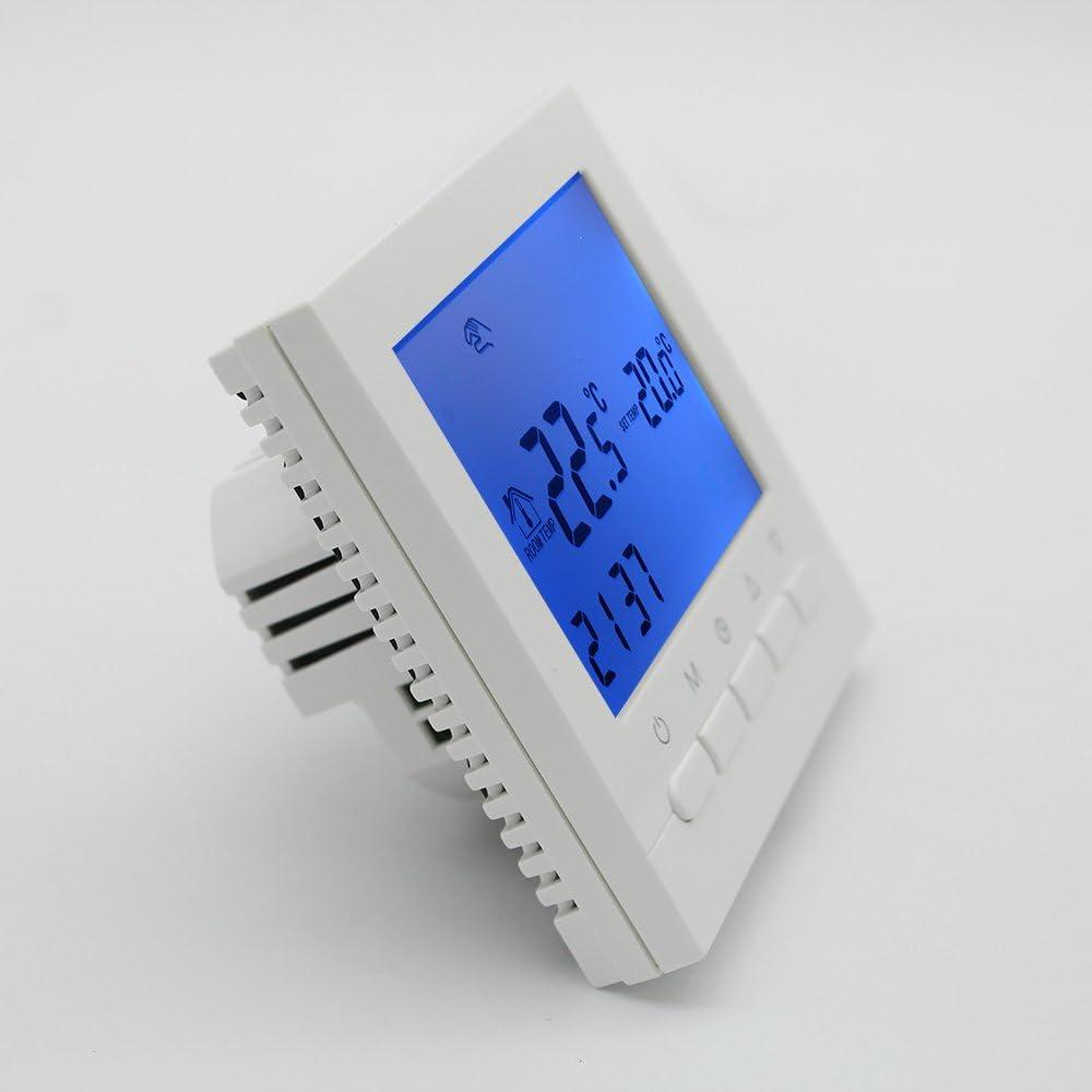 3A - Termostato caldera gas Termostato inteligente WIFI de pared ...