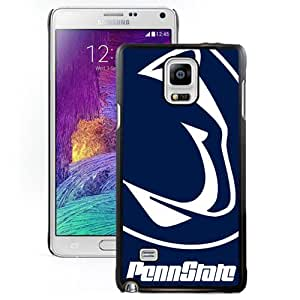 Fashionable And Unique Designed With Ncaa Big Ten Conference Football Penn State Nittany Lions 2 Protective Cell Phone Hardshell Cover Case For Samsung Galaxy Note 4 N910A N910T N910P N910V N910R4 Black