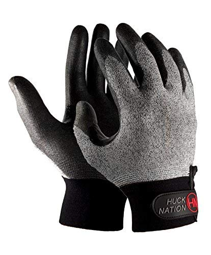 Huck Nation ''Dominator Ultimate Frisbee Gloves - Seamless Design for Handlers and Cutters (Medium)