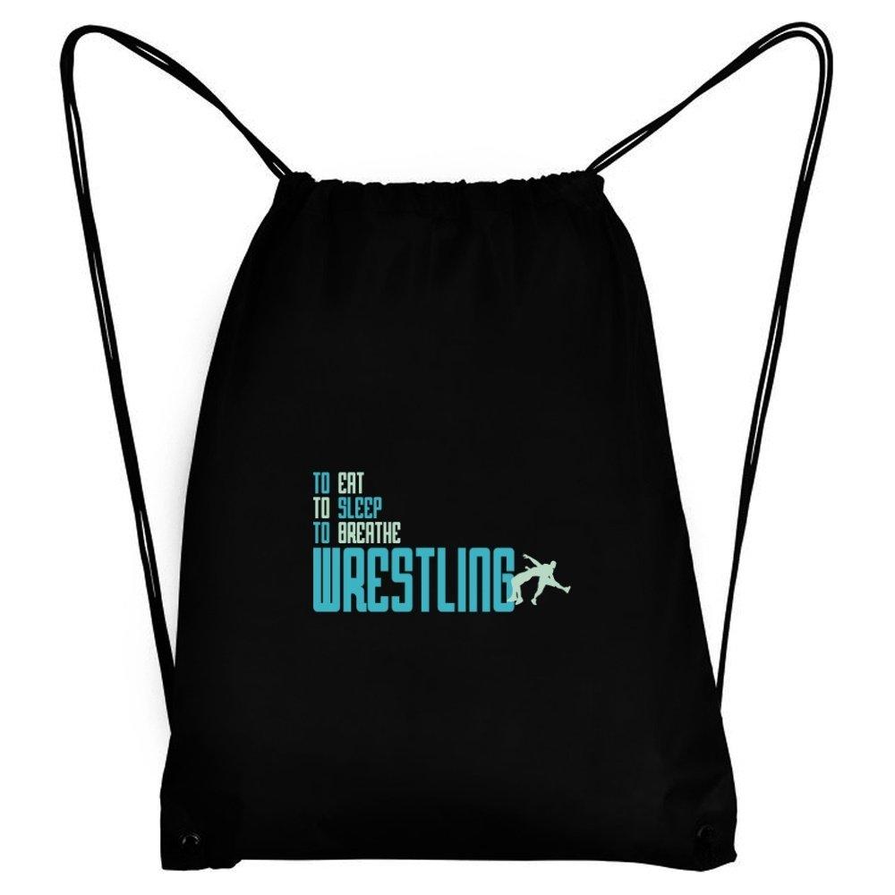 Teeburon To eat, to sleep, to breathe Wrestling Sport Bag