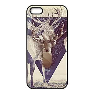 Artistic deer lovely phone case for iPhone 5s