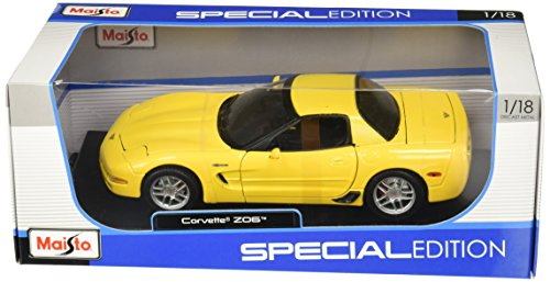 2001 Chevrolet Corvette Z06 diecast model car 1:18 scale die cast by Maisto