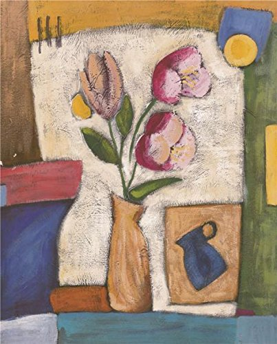 Armoire Amelia (Oil Painting 'Pink Flowers', 24 x 30 inch / 61 x 76 cm , on High Definition HD canvas prints is for Gifts And Dining Room, Nursery And Study Room Decoration, prints)