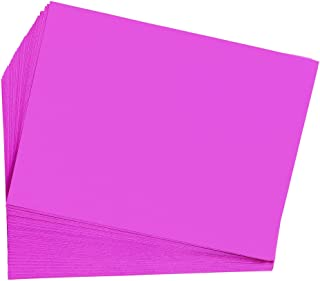 product image for Construction Paper, Hot Pink, 9 inches x 12 inches, 50 Sheets, Heavyweight Construction Paper, Crafts, Art, Kids Art, Painting, Coloring, Drawing Paper, Art Project, All Purpose (Item # 9CPHP)