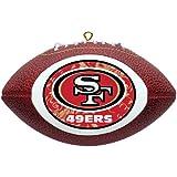 NFL San Francisco 49ers Mini Replica Football Ornament