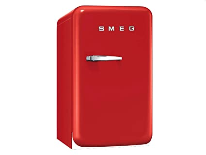 Smeg Kühlschrank Dwg : Smeg fab5rr1 autonome 32l d rot kühlschrank kühlschränke autonome