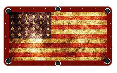Elegant Amazon.com : American Flag Billiard Cloth Pool Table Felt : Sports U0026  Outdoors