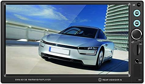 T8013 7/'/' Car Stereo MP5 Player Bluetooth FM Radio Remote Control AUX w//Camera