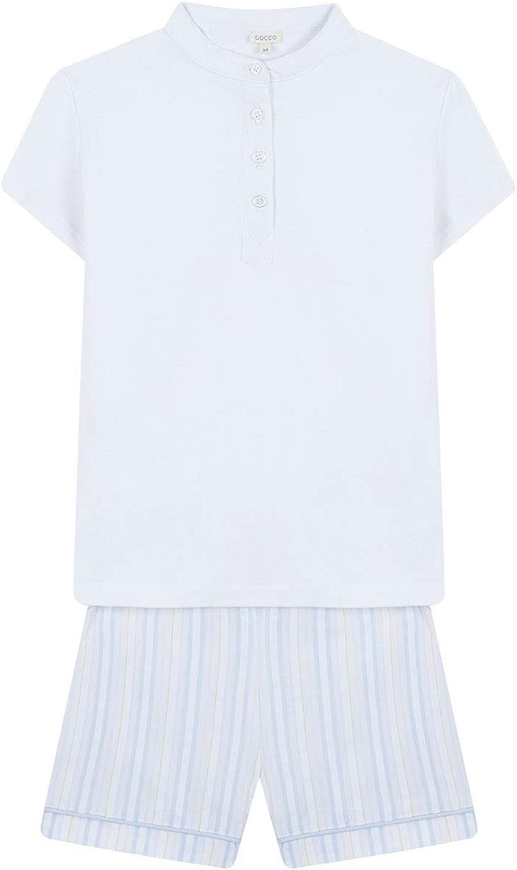 Gocco Pijama de Rayas con Camiseta Conjuntos Niños